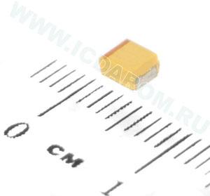 TECAP 100/6.3V B 10 LowESR(TC212B107K006B)/SUNLORD/B/