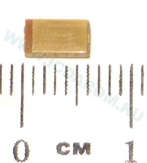 TECAP 10/35V C 10 (293D106X9035C2TE3)/VISHAY/C/