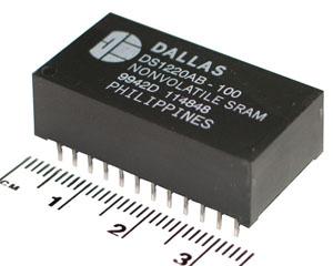 DS1220AB-100/MAX-DALL/DIP24/