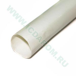 RBF D:12,7/6,4 мм, белая, 1 метр