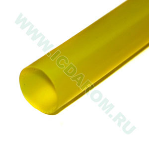 RBF D:9,5/4,8 мм, жёлтая, 1 метр