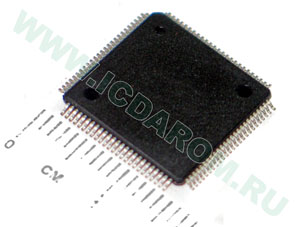 ATMEGA1280V-8AU/AT/TQFP100/