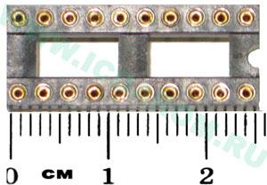 SCSM-20(DIP20*2,54 цанговая)